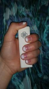 Jamberry Nails French Tip