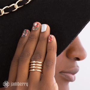 Holiday2015 Jamberry Tannenbaum and Paparazzi