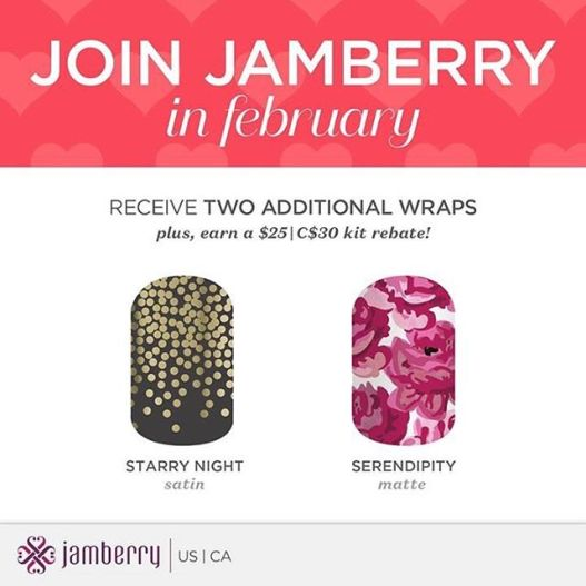 Join Jamberry in February